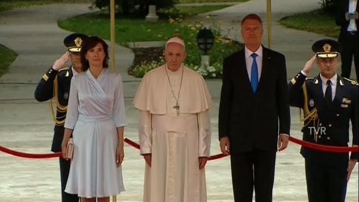 Papa Francisc-cotroceni